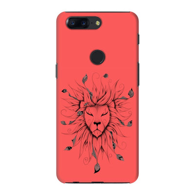 Poetic King Slim Case And Cover For Oneplus 5T - Neon Red