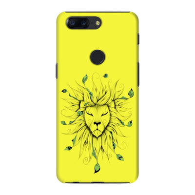 Poetic King Slim Case And Cover For Oneplus 5T - Neon Yellow