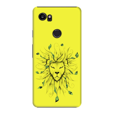 Poetic King Slim Case And Cover For Pixel 2 Xl - Neon Yellow