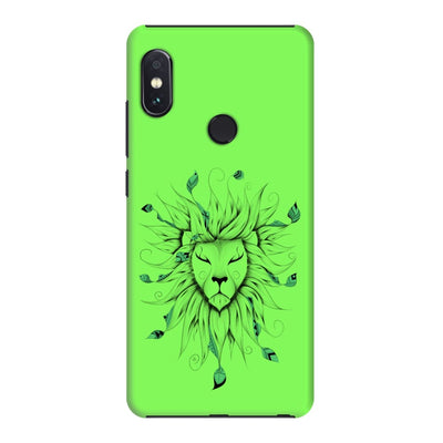 Poetic King Slim Case And Cover For Redmi Note 5 Pro - Neon Green