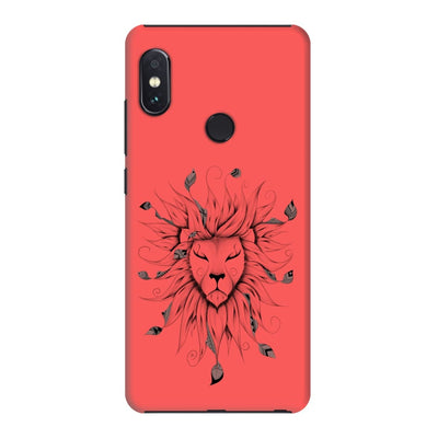 Poetic King Slim Case And Cover For Redmi Note 5 Pro - Neon Red