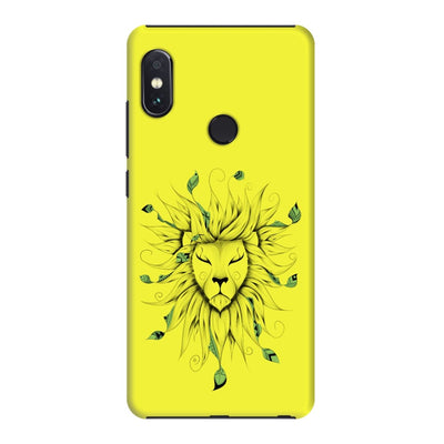 Poetic King Slim Case And Cover For Redmi Note 5 Pro - Neon Yellow