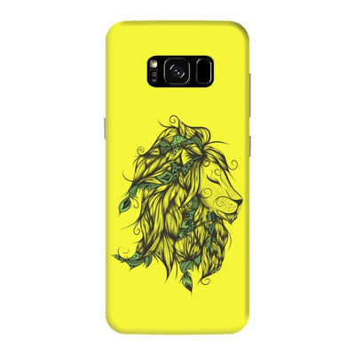 Poetic Lion Slim Case And Cover For Galaxy S8 Plus - Neon Yellow