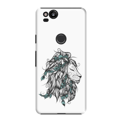 Poetic Lion Slim Case And Cover For Pixel 2 - White