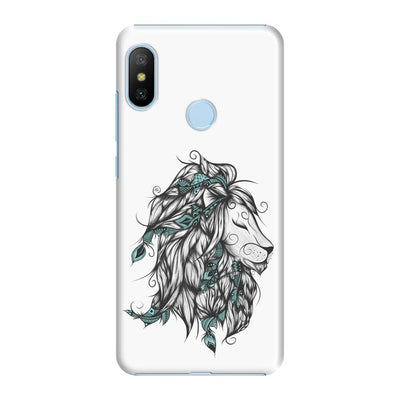 Poetic Lion Slim Case And Cover For Redmi 6 Pro - White