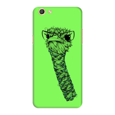 Poetic Ostrich Slim Case And Cover For Oppo F3 - Neon Green