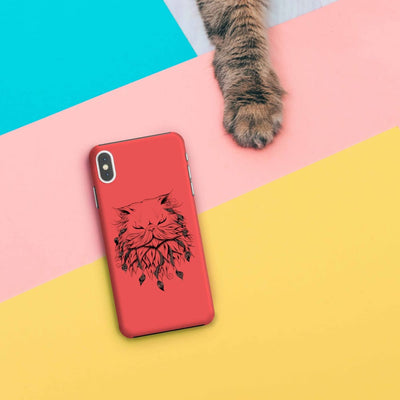 Poetic Persian Cat Slim Case And Cover For Iphone Xs Max