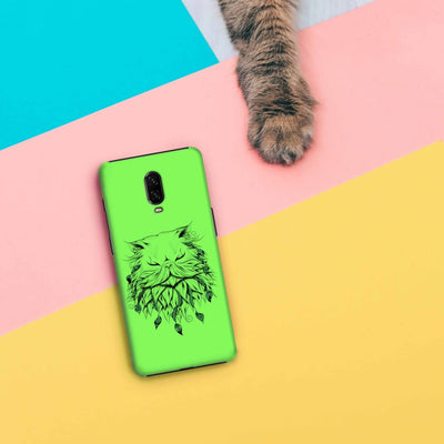 Poetic Persian Cat Slim Case And Cover For Oneplus 6T