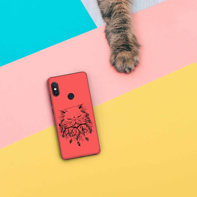 Poetic Persian Cat Slim Case And Cover For Redmi Note 5 Pro