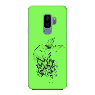 Poetic Rabbit Slim Case And Cover For Galaxy S9 Plus - Neon Green