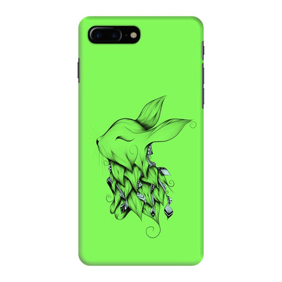 Poetic Rabbit Slim Case And Cover For Iphone 7 Plus - Neon Green