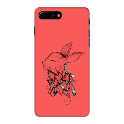 Poetic Rabbit Slim Case And Cover For Iphone 7 Plus - Neon Red