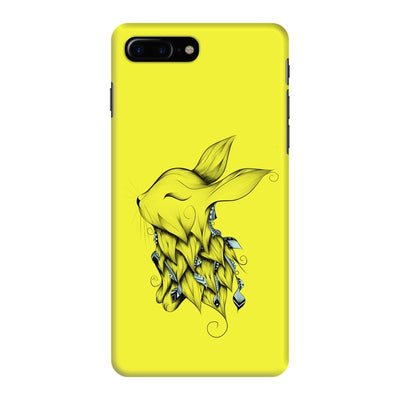 Poetic Rabbit Slim Case And Cover For Iphone 7 Plus - Neon Yellow