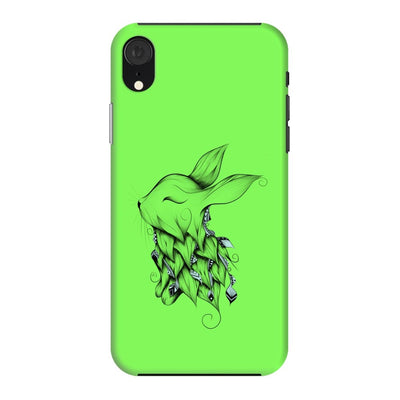 Poetic Rabbit Slim Case And Cover For Iphone Xr - Neon Green