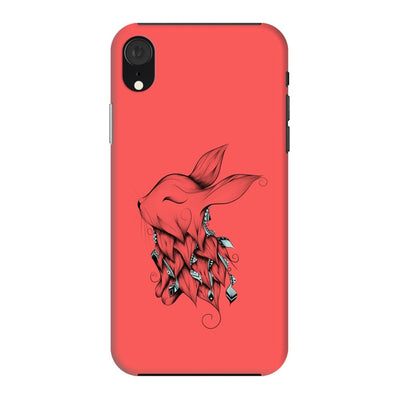 Poetic Rabbit Slim Case And Cover For Iphone Xr - Neon Red