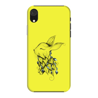 Poetic Rabbit Slim Case And Cover For Iphone Xr - Neon Yellow