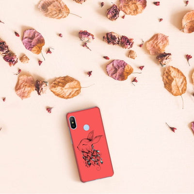 Poetic Rabbit Slim Case And Cover For Redmi 6 Pro