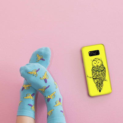 Poetic Snow Owl Slim Case And Cover For Galaxy S8 Plus