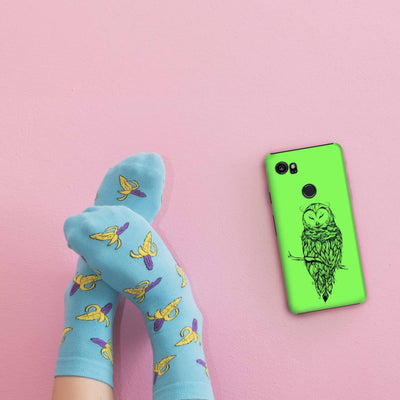 Poetic Snow Owl Slim Case And Cover For Pixel 2 Xl