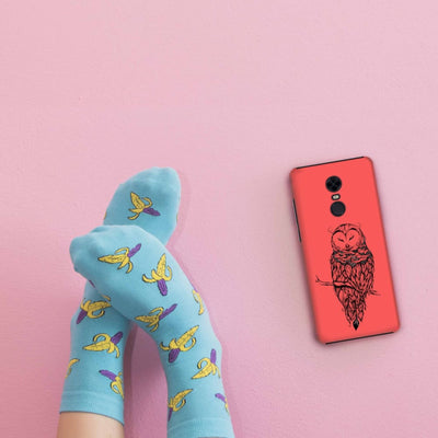 Poetic Snow Owl Slim Case And Cover For Redmi Note 5