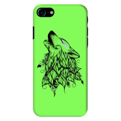Poetic Wolf Slim Case And Cover For Iphone 8 - Neon Green