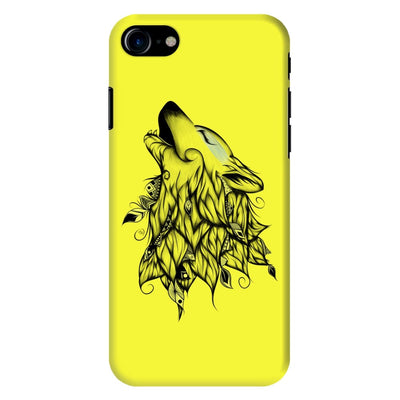 Poetic Wolf Slim Case And Cover For Iphone 8 - Neon Yellow
