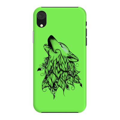 Poetic Wolf Slim Case And Cover For Iphone Xr - Neon Green
