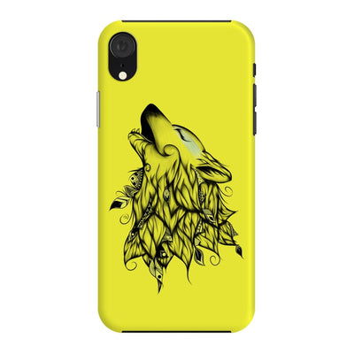 Poetic Wolf Slim Case And Cover For Iphone Xr - Neon Yellow