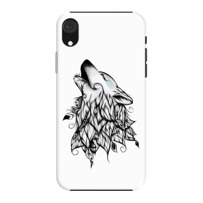 Poetic Wolf Slim Case And Cover For Iphone Xr - White