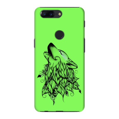 Poetic Wolf Slim Case And Cover For Oneplus 5T - Neon Green