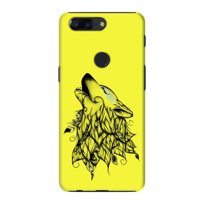 Poetic Wolf Slim Case And Cover For Oneplus 5T - Neon Yellow