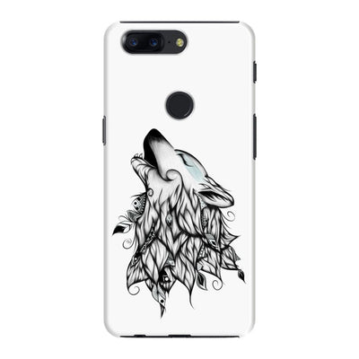 Poetic Wolf Slim Case And Cover For Oneplus 5T - White