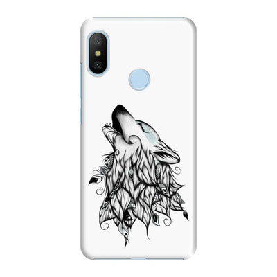 Poetic Wolf Slim Case And Cover For Redmi 6 Pro - White