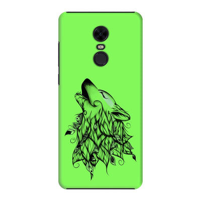Poetic Wolf Slim Case And Cover For Redmi Note 5 - Neon Green