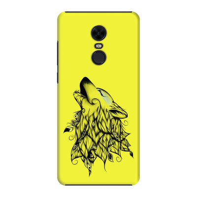 Poetic Wolf Slim Case And Cover For Redmi Note 5 - Neon Yellow
