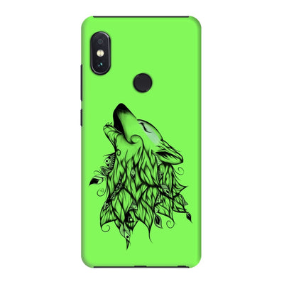 Poetic Wolf Slim Case And Cover For Redmi Note 5 Pro - Neon Green