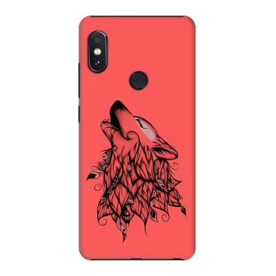 Poetic Wolf Slim Case And Cover For Redmi Note 5 Pro - Neon Red