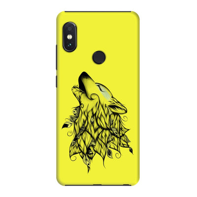 Poetic Wolf Slim Case And Cover For Redmi Note 5 Pro - Neon Yellow