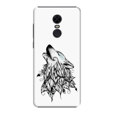 Poetic Wolf Slim Case And Cover For Redmi Note 5 - White