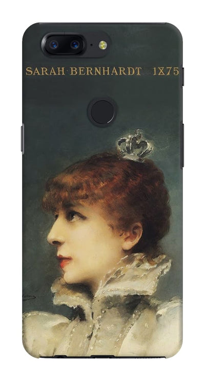 Portrait Of Sarah Bernhardt As Queen Maria De Neubourg From The Play Ruy Blas 1875 Slim Case And Cover For Oneplus 5T
