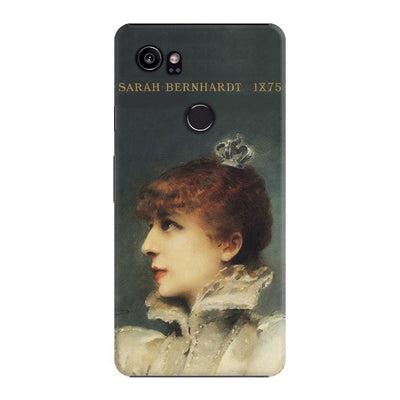 Portrait Of Sarah Bernhardt As Queen Maria De Neubourg From The Play Ruy Blas 1875 Slim Case For Pixel 2 Xl