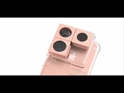 Puzlook Nude - 3-in-1 Lens Case