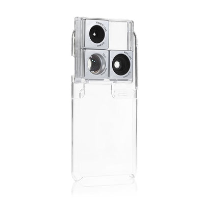 Puzlook Nude - 3-in-1 Lens Case - Silver / Apple / iPhone 6/6S