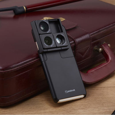 Puzlook Slim - three lenses one phone case