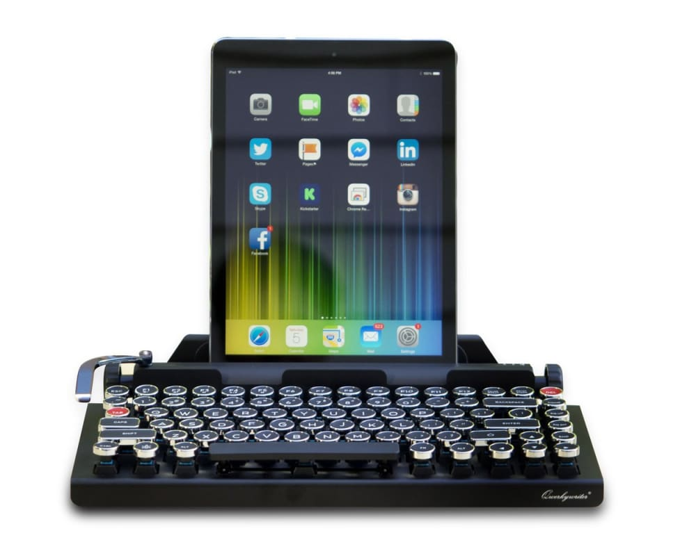 Qwerkywriter - typewriter styled Bluetooth keyboard