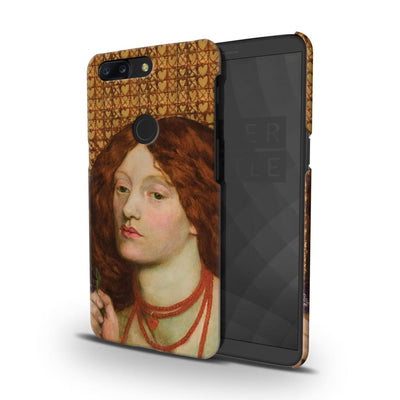 Regina Cordium (Queen Of Hearts) Oil On Canvas 1860 Slim Case And Cover For Oneplus 5T