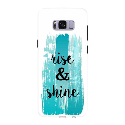 Rise And Shine Slim Case For Galaxy S8