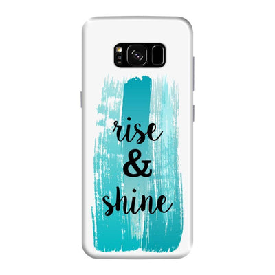 Rise And Shine Slim Case For Galaxy S8 Plus