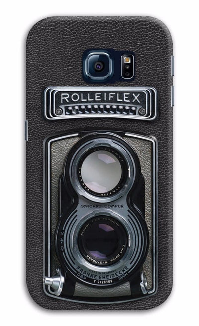 Rolleiflex Designer Slim Case And Cover For Galaxy S6 Edge