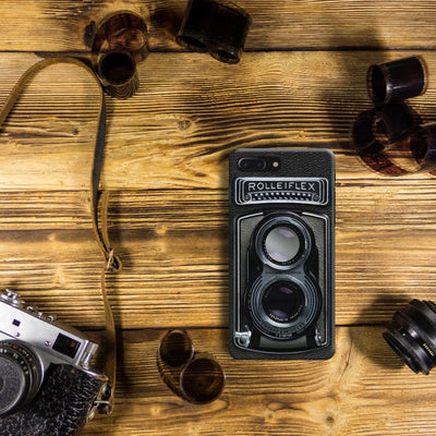 Rolleiflex Slim Case And Cover For Iphone 7 Plus